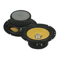 2 Way Coaxial Car Speaker With Woofer and  Tweeter , 4 Ohm 50 Watt