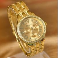 Gold Gilding Watch Business Style Fashion Watch for Men or Women