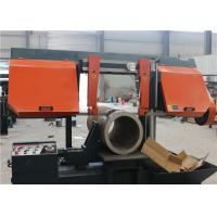 China Semi Automatic Steel Cutting Bandsaw , Band Saw Cutting Machine CE / ISO on sale