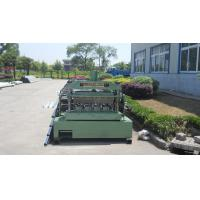 China Metal Roll Forming Equipment , Galvanized Floor Decking Forming Machine on sale