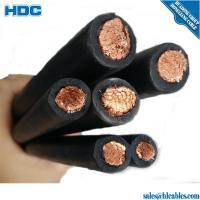 Buy cheap 750V Rubber Flexible Welding Cable from Wholesalers