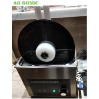 China 6 Litre Table Top Ultrasonic Cleaning Machine , Ultrasonic Record Cleaner SS 304 on sale
