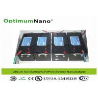 Buy cheap Energy Storage Electric Golf Cart Batteries , 48V 200Ah Electric Golf Trolley Lithium Battery from wholesalers
