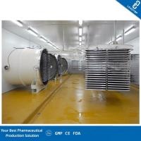 China Freeze Dried Fruit Machine / Industrial Freeze Drying Machine Efficient Heating Plates on sale