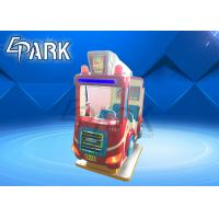 English Version Fire Truck Kiddy Ride Machine Children Swing Car