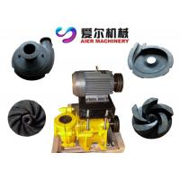 China Mineral Process Coal Washing Mining Slurry Pump Motor / Diesel Engine Fuel on sale
