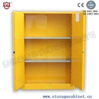Industrial Safety Flammable Storage Cabinet Equipment , Fire Resistant Cupboards
