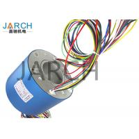 Medical Equipment 60mm Through Bore Rotary Slip Ring 250 ~ 500RPM for Electric Slip Ring