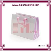 China Baby cloting packaging bag, eco-friendly recycle paper gift bag ME-BG014 on sale