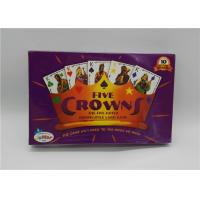 Buy cheap FIVE CROWNS Popular Adult Card Games Five Suited Rummy Style Easy Play from Wholesalers