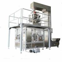 Beans packing multihead weigher for bag pouch,Dry herbal packing multihead for sale