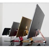 China COMER portable Aluminum display home desk holder desktop Stand for Mobile phone Cell Phone at office, www.comerbuy.com