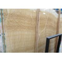 Yellow Onyx Polished Natural Stone Tile For Exterior Walls Honey Onyx Marble Type