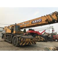 Japan Made Second Hand KATO 50 ton Rough Terrain Crane For Sale for sale
