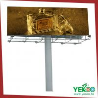 China outdoor billboard advertising billboard sign equipment on sale