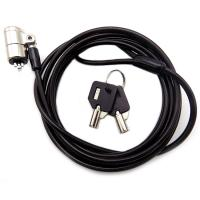 Buy cheap 4 Digit Password Protection Combination Notebook  / Laptop Cable Lock With Two Master Kyes from Wholesalers