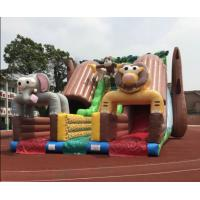 Buy cheap Giant Outdoor Inflatable Forest Animal Dry Slide Huge Inflatable Monkey Elephant Dry Slide For Commercial Sale from Wholesalers