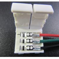 Buy cheap Solderless 3pin led connector for apa104 ws2811 digital led strip from Wholesalers