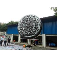Buy cheap Attractive Custom Inflatable Products Giant Model Chocolate Cookie from Wholesalers