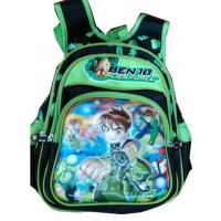 China 3 D Cartoon school bag, Ben 10 School bag on sale