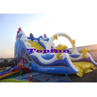 Buy cheap Residential Fish Children Inflatable Slides Playground Game Inflatable Fun For Kids from Wholesalers