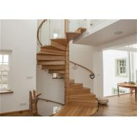 Buy cheap Cable Railing Interior Spiral Staircase Modern Design Screws Installation from wholesalers