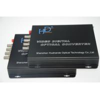 Buy cheap Multifunctional 4 Channel Video To Fiber Converter 110bps-115.200Kbps from Wholesalers