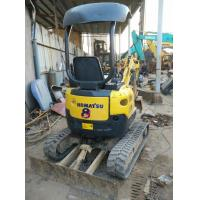 Used KOMATSU PC15 Mini Excavator For Sale with Rubber Track shoe for sale