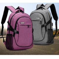 Buy cheap Outdoor Anti Theft Business Laptop Backpack With Charger Built In / External USB System from Wholesalers