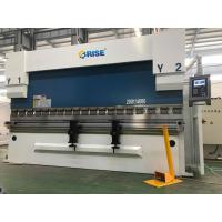 Buy cheap 200 Ton Automatic CNC Sheet Metal Press Brake Bending Machine DA52S High Precision from Wholesalers