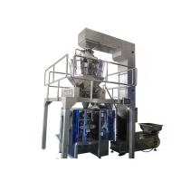 Dry tea leaf VFFS multihead weigher packing machine,10 lane multihead weigher for sale