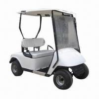 China 2-seater Golf Buggy/Golf Car with Single Stage Rack, for Steering System and 80km Travel Distance on sale