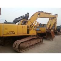 Used Japan Excavator KOMATSU PC200 For Sale for sale