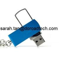 Buy cheap Metal Twister USB Flash Drive, Twist USB Flash Memory, Real Capacity Swivel USB Pendrives from wholesalers