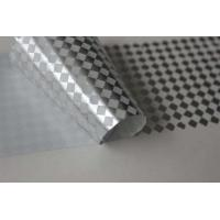 Small Squares Tamper Evident Label Material , Phone Security Label 25 And 50 Micron