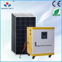 China off-grid 5kw home solar system 220v solar power generator on sale TY085A on sale