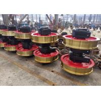 Buy cheap Investment Casting Crane Wheel Assembly , Forged Alloy Wheels For Crane from Wholesalers
