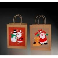 China Recycled Paper Gift Bag With Paper Twisted Handle on sale