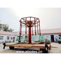 Buy cheap trailer mounted airborne shot Portable Rides Mobile Rides Amusement Rides on Trailer from Wholesalers