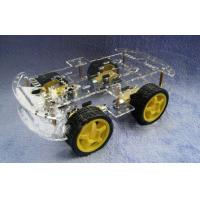 Buy cheap L293D 4wd Drive Robot Smart Car Chassis , Remote Control Car Parts from Wholesalers