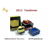 Buy cheap Vertical Horizontal EE40 42 Hf Power Transformer , UEWF LITZ WIRE High Isolation Transformer from Wholesalers