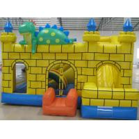 Buy cheap 0.55mm PVC Tarpaulin Kids Inflatable Sports Games , Moonwalk Commercial Bouncy Castle from Wholesalers