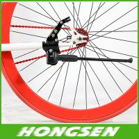 China Spray painting semi aluminum alloy road bicycle support/bike side kickstand on sale
