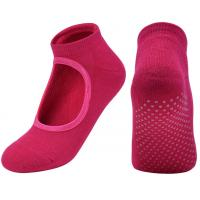 China Colorful Low Cut Non - Slip Yoga Grip Socks For Pilates Barre Ballet  Anti - Foul on sale