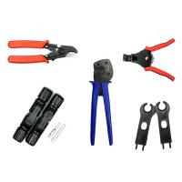 China 5 in 1 easy to Use Solar PV Tool Kit for 26-10AWG Terminal Crimping PV connector on sale
