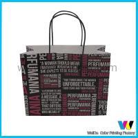 Buy cheap CMYK Print Matte Cartoon Plastic Handle Paper Shop Bag OEM Eco - friendly from Wholesalers