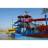 Buy cheap Holiday Resorts Water Playground Equipment Hot Dip Galvanizing Steel Structure from wholesalers