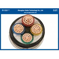 Buy cheap Low Voltage 4 Core Armoured Cable , Outdoor Armoured Electrical Cable 0.6/1KV(NYBY/N2XBY/STA) from Wholesalers