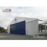 Buy cheap High Reinforce Aluminum Military Aircraft Hangar Tent Width 20m Fire Protection from Wholesalers