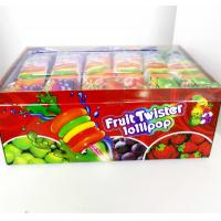 Buy cheap Colorful Multi Fruit Flavor Twist Lollipop Sweet And Healthy with Fluorescent sticks from Wholesalers